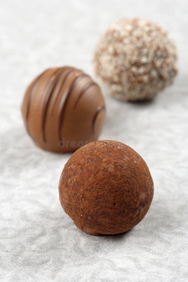 Prazeres do chocolate imagens de stock royalty free