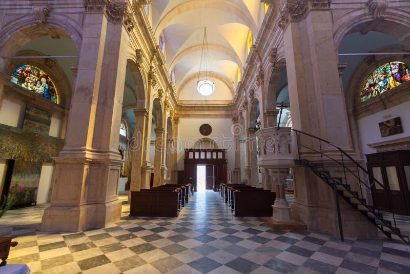 PRCANJ, MONTENEGRO - JULI 23, 2015: Katholiek royalty-vrije stock afbeelding
