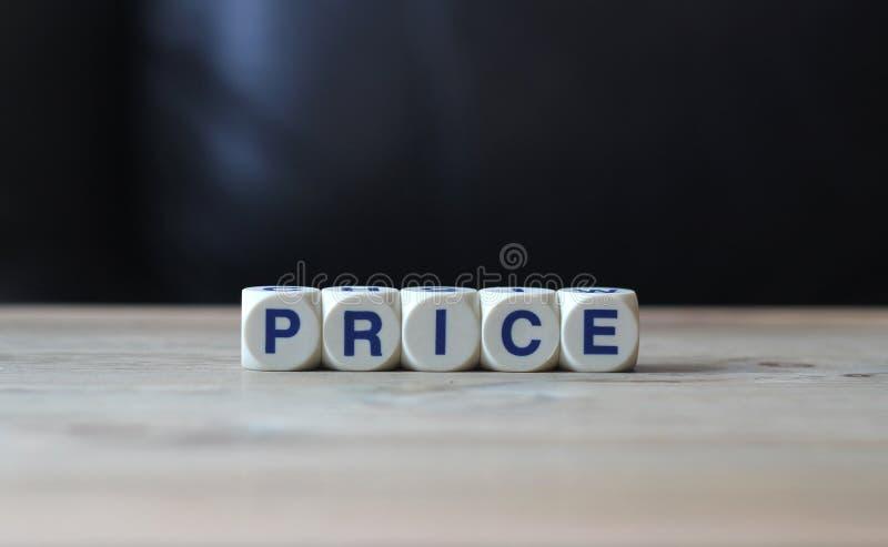 Preço imagens de stock