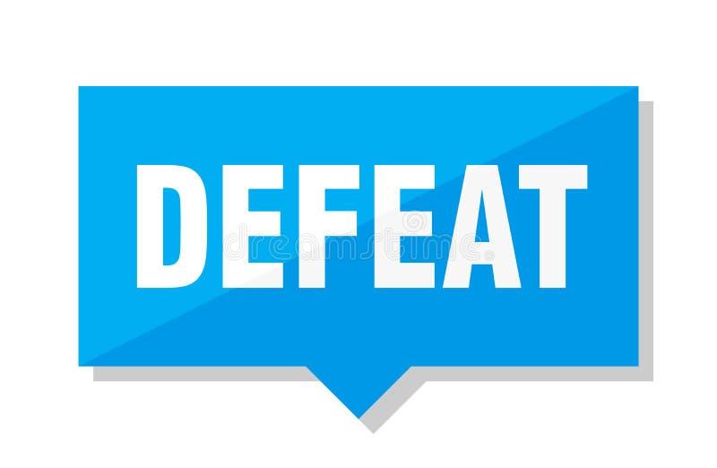 Preço da derrota ilustração do vetor