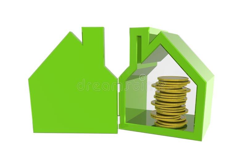 Preço de sua casa foto de stock