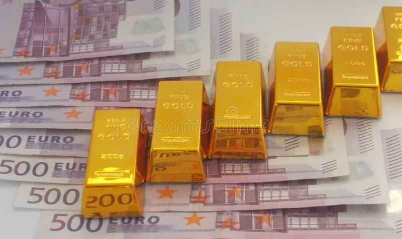 Preço do ouro imagem de stock royalty free