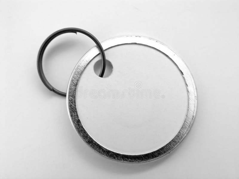 Preço Em Branco Do Metal Foto de Stock Royalty Free