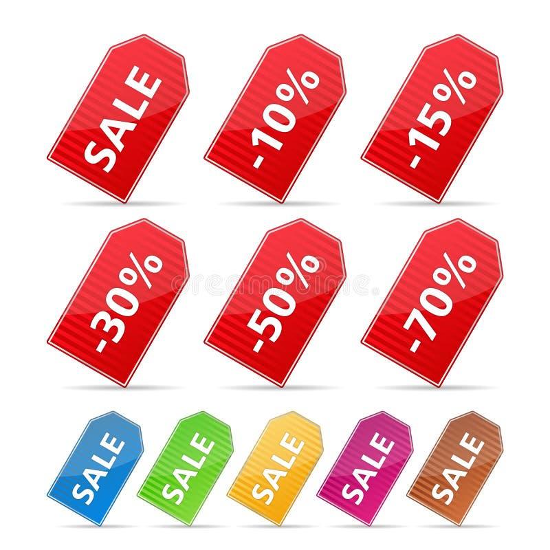 Preços ilustração do vetor