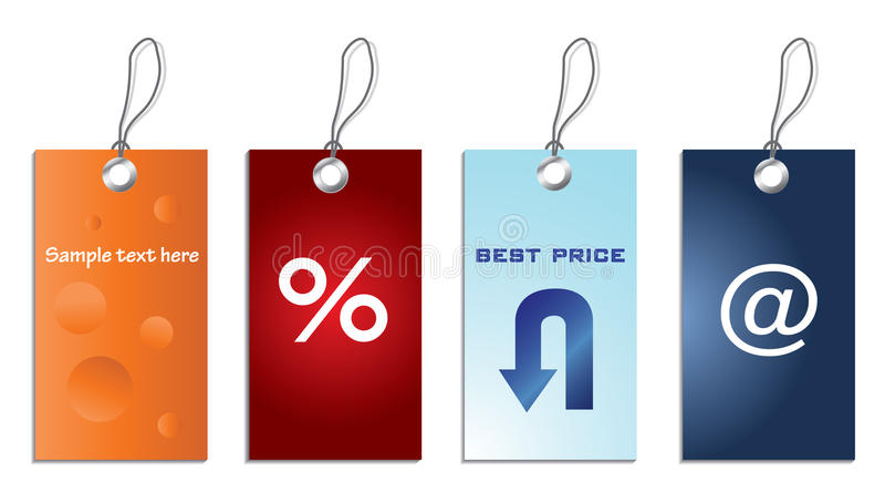 Preços especiais ilustração royalty free