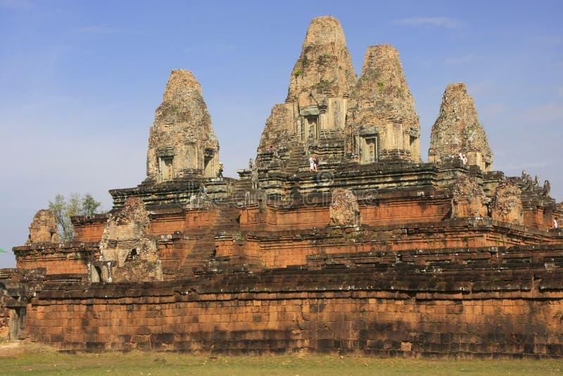 Pre висок Rup, зона Angkor, Siem Reap, Камбоджа стоковое фото rf