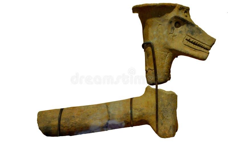 Pre-Columbian keramiek - Mochica-Cultuur royalty-vrije stock afbeeldingen