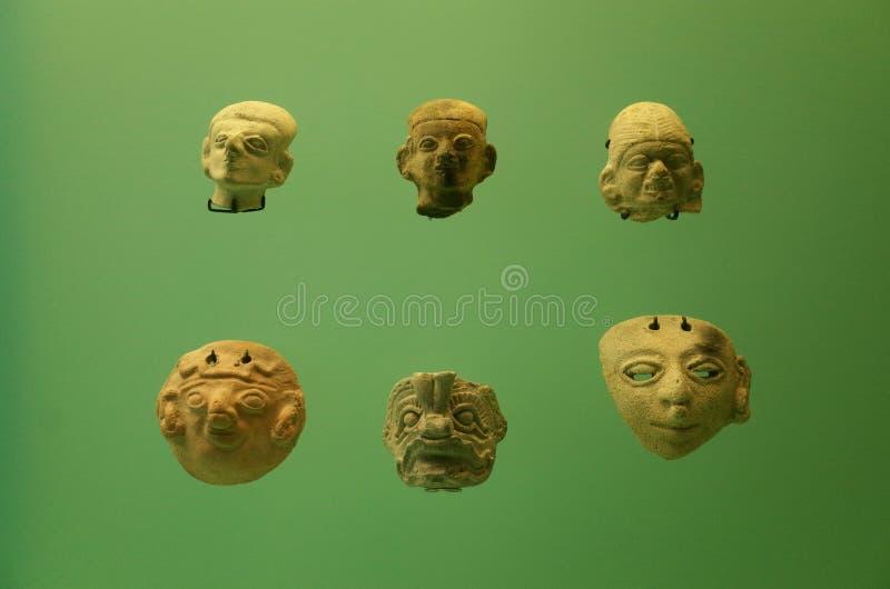 Pre Columbian krukmakeri arkivfoto