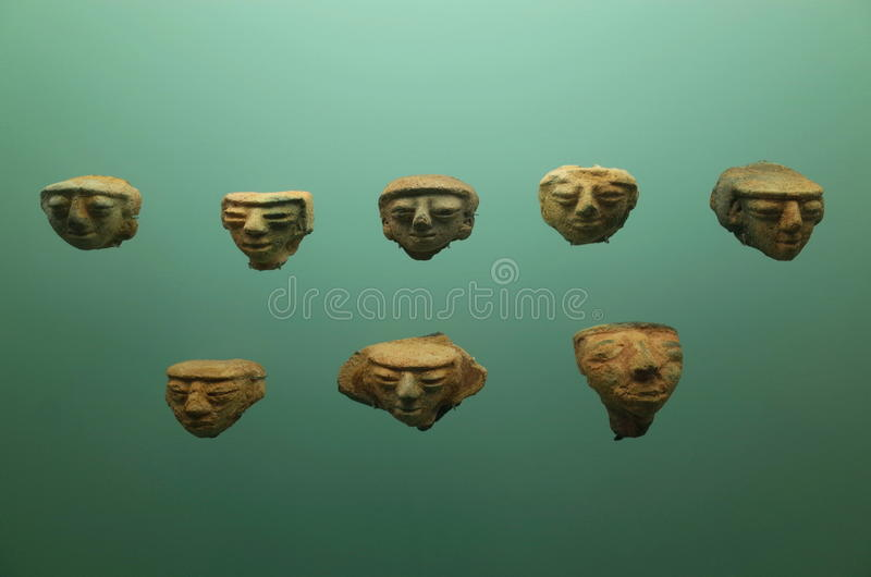 Pre Columbian krukmakeri royaltyfria bilder