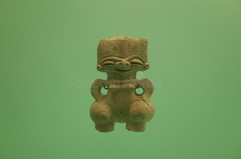 Pre Columbian krukmakeridiagram fotografering för bildbyråer