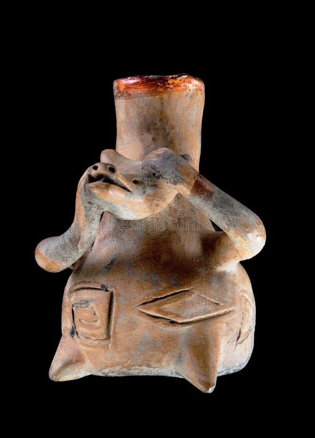 Pre Columbian Psia waza fotografia stock