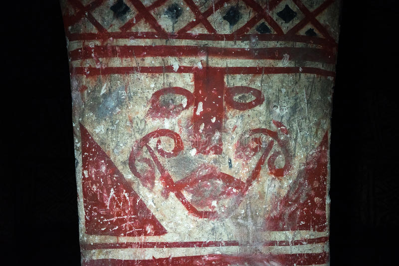 Pre-columian obraz obraz royalty free