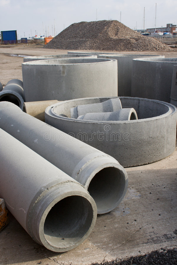 Pre Fabricated Concrete stock photography