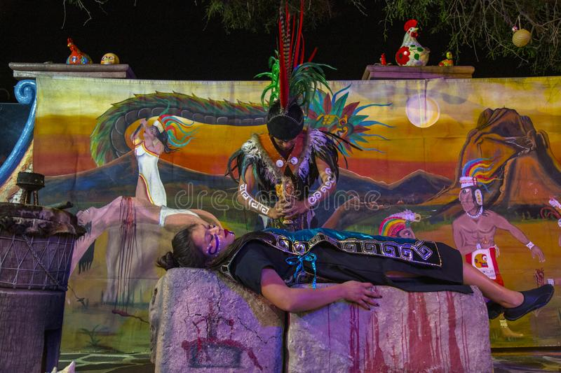 Pre-Hispanic dance Mexico. Tradition, culture, dancer, religion, decoration, traditional, spiritual, mexican, day, dead, travel, sculpture, energy, tourism royalty free stock photos