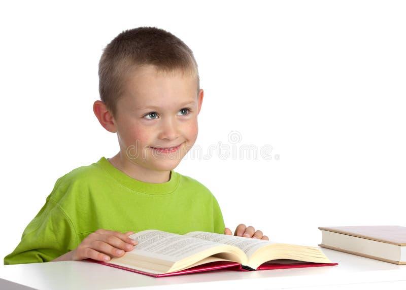 Pre-school reader royalty free stock photos