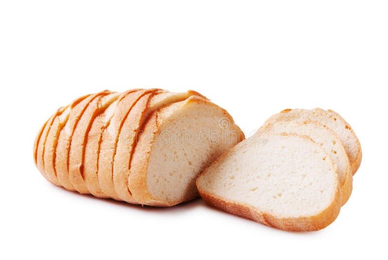 Pre-sliced bread stock photography