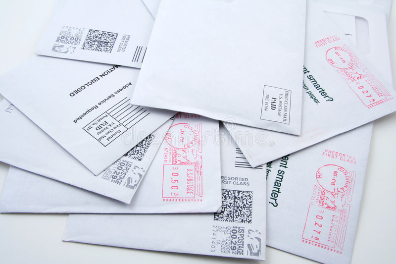 Download Pre-sorted US Mail Stock Images - Image: 624854