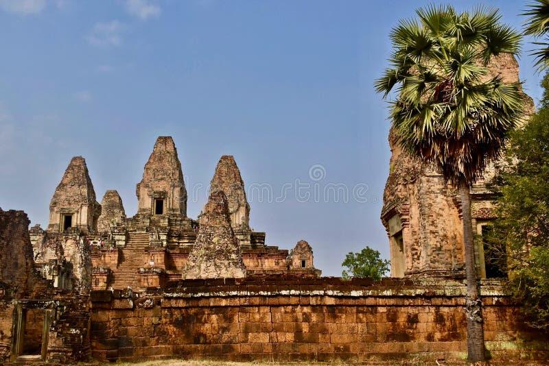Pre templo de Rup en Angor, Siem Reap, Camboya imágenes de archivo libres de regalías