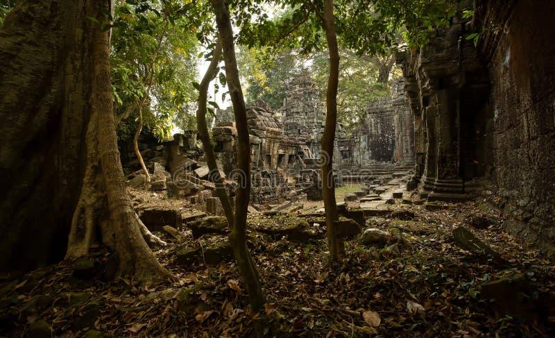 Preah可汗发现 免版税库存照片