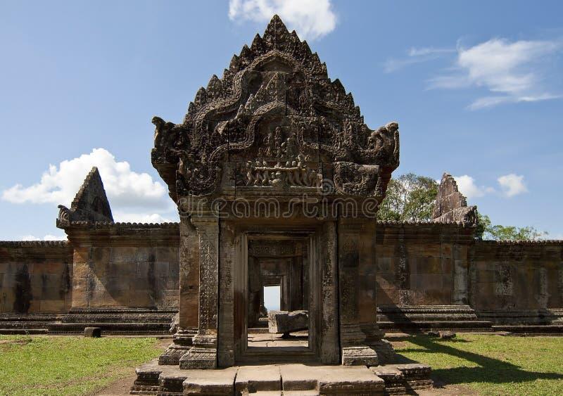 preah ναός vihear στοκ εικόνες
