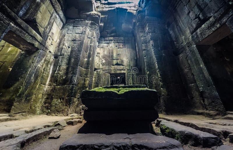 Preah Khan, Angkor stock image