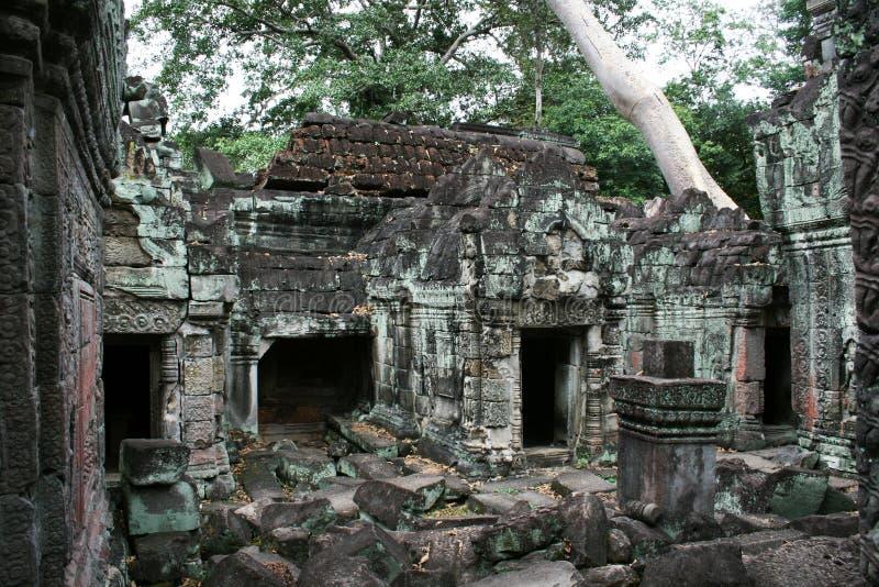 Preah khan ruins. The ruins of the ancient hindus temple preah khan at angkor in cambodia stock photos