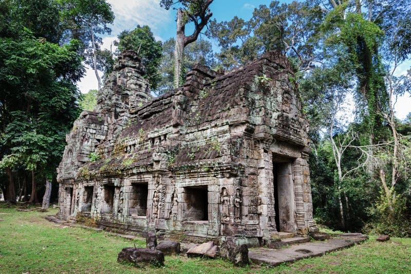 Preah Khan at Siem Reap. Cambodia royalty free stock images
