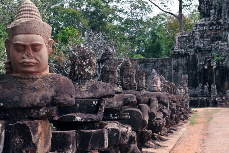 Preah khan. Siem Reap, Cambodia royalty free stock photos