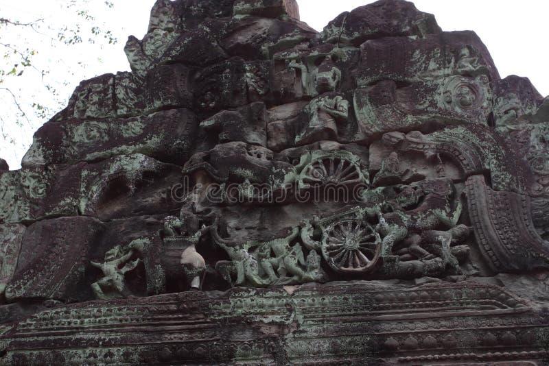 Preah Khan Temple in Angkor lizenzfreie stockfotos