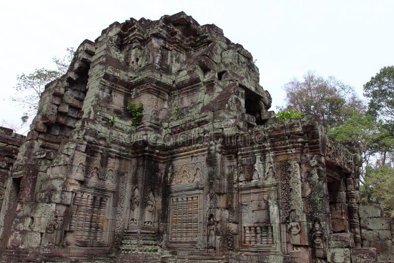 Preah Khan Temple in Angkor lizenzfreie stockbilder