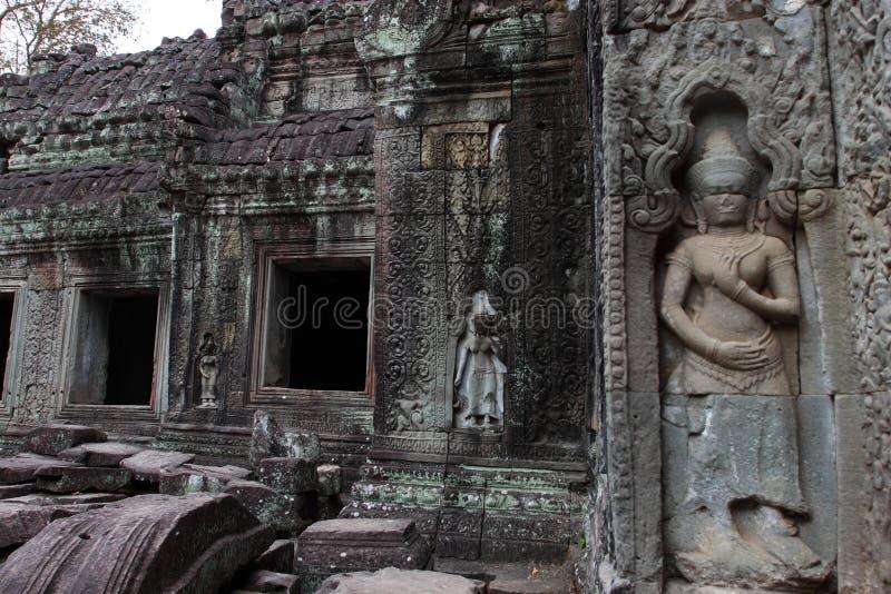 Preah Khan Temple in Angkor. Siem Reap, Cambodia stock image
