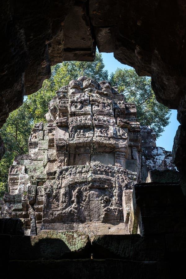 Preah Khan temple in complex Angkor Wat in Siem Reap, Cambodia stock photos