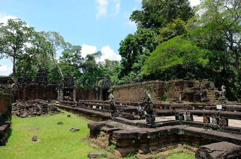 Preah Khan temple. Siem Reap, Cambodia stock photos
