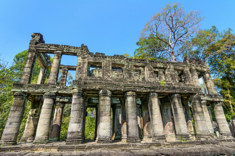 Preah Khan temple, Siem Reap, Cambodia. stock image