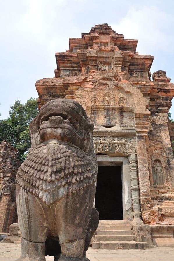 Preah Ko lizenzfreie stockbilder