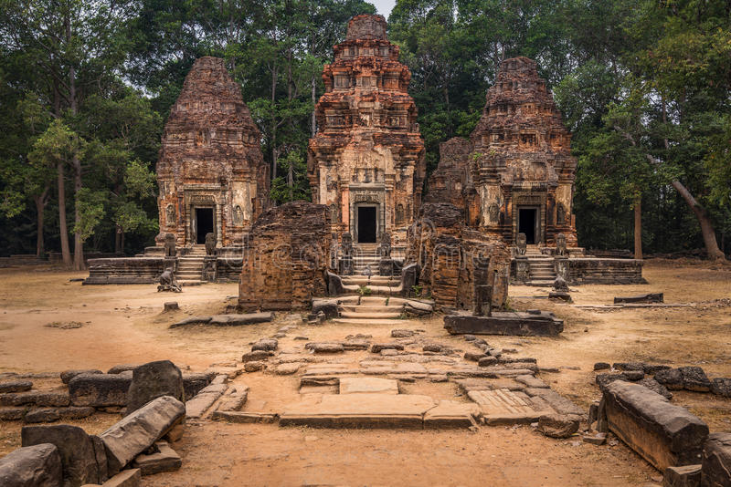 Preah Ko royalty free stock photography