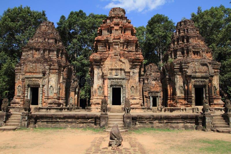 Preah Ko in Angkor stockbild