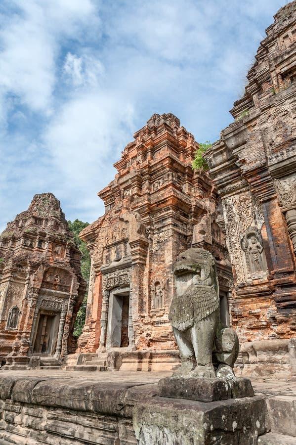 Preah Ko Brick Prasats stockfoto