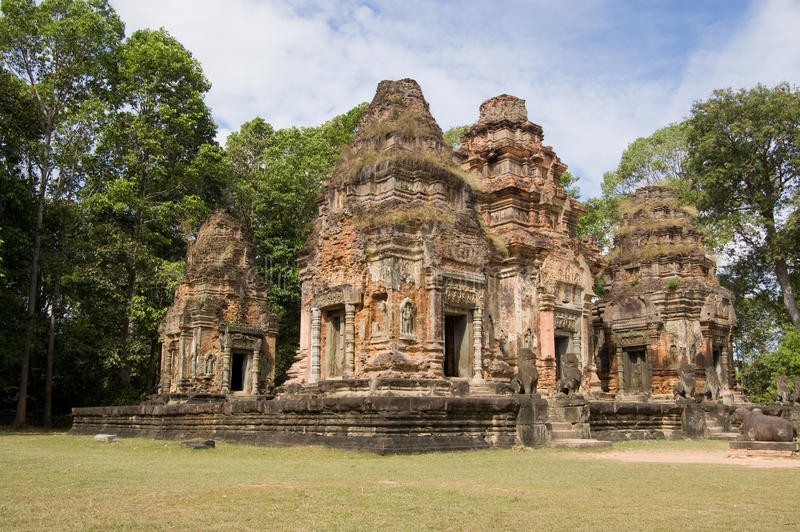 Download Preah Ko Temple, Cambodia stock photo. Image of preah - 23571532