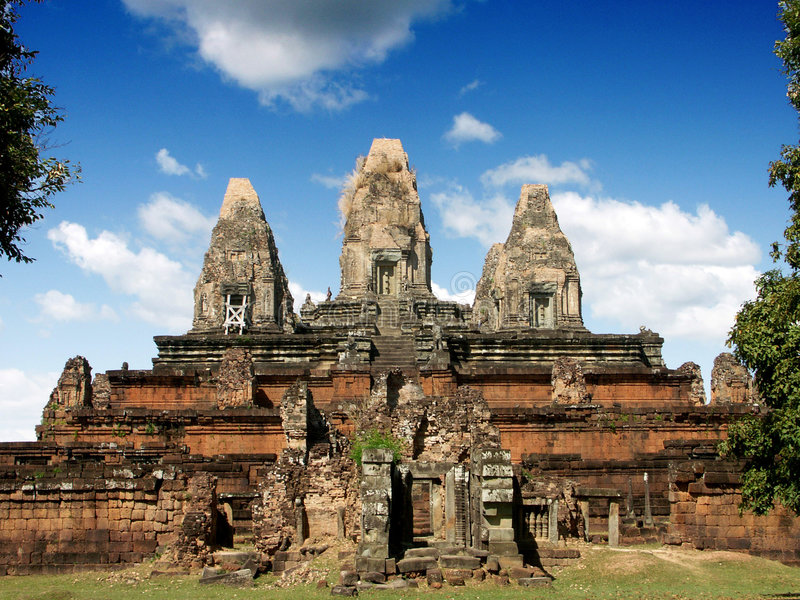 Preah Rup, Cambodia royalty free stock photos