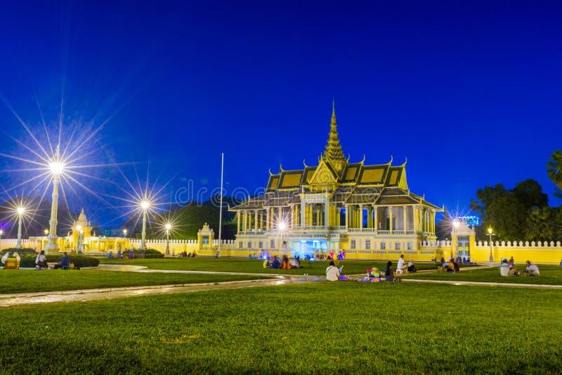Preah Thineang Chan Chhaya Samdach Sothearos стоковая фотография rf