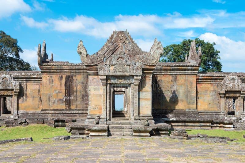Preah Vihear, Camboja - 3 de dezembro de 2016: Templo de Preah Vihear um fam imagens de stock royalty free