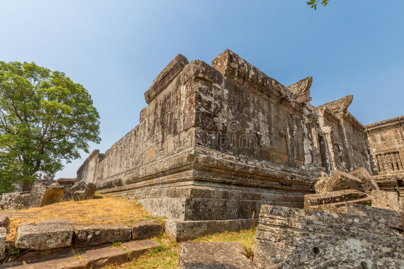Preah vihear temple stock photos