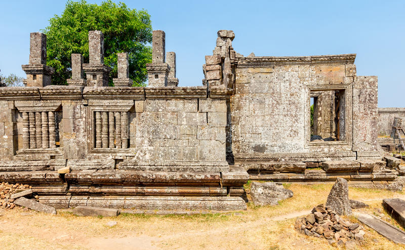 Preah vihear temple stock images