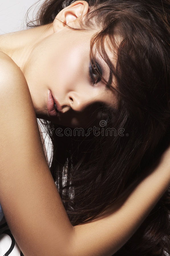 preatty νεολαίες γυναικών στοκ εικόνα με δικαίωμα ελεύθερης χρήσης