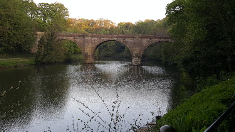 Prebends Bridge stock image