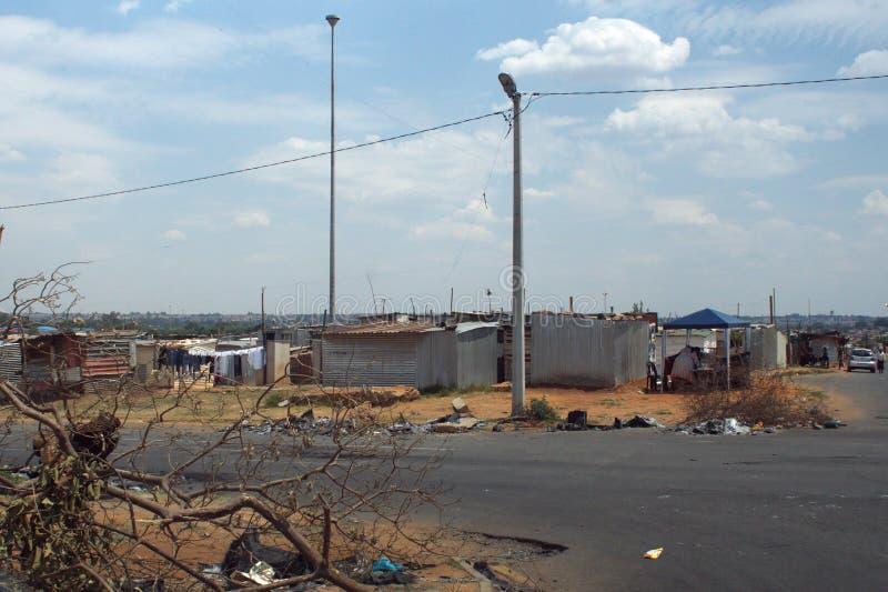 Precário em Soweto imagens de stock royalty free