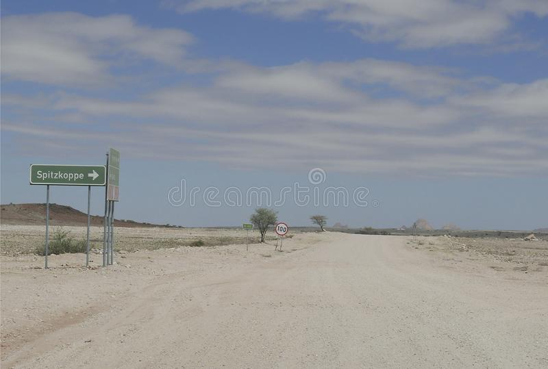 Precarious Road royalty free stock photos