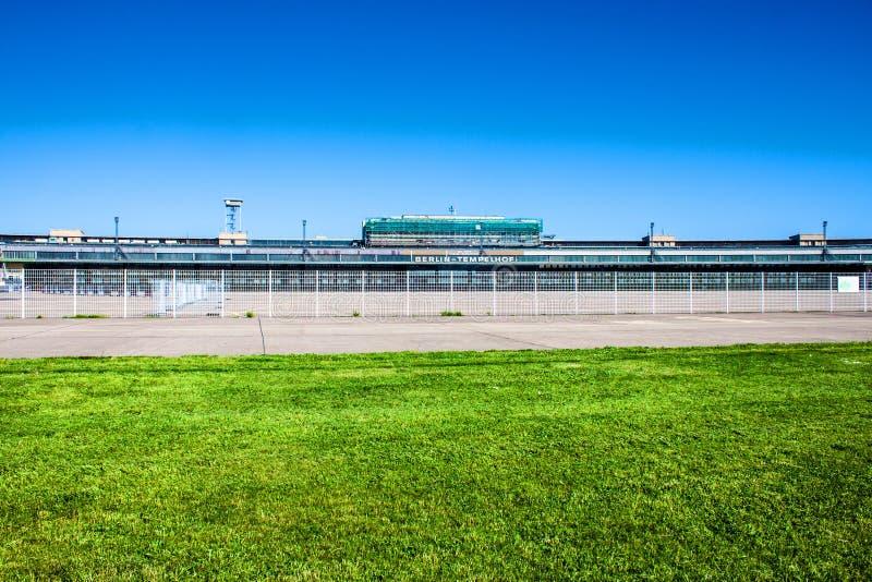 Precedente aeroporto di Tempelhof, Berlino fotografia stock