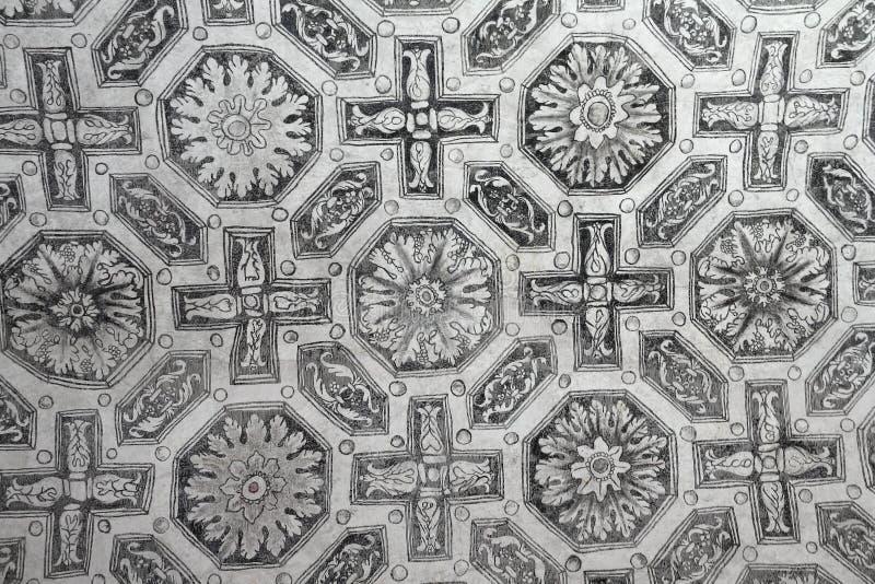 Precedente convento domenicano di San Juan Bautista V immagini stock